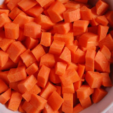 Karotten mit Couscous Aprikose und Hackfleisch
