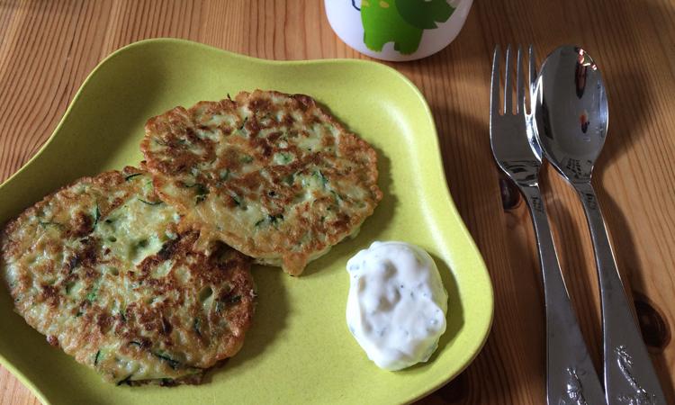 Zucchini-Pfannkuchen