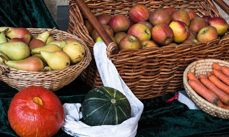 Nachmittagsbrei mit Kürbis und Apfel