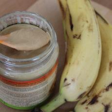 Bananen-Erdnuss-Brei