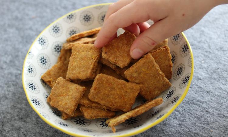 Fingerfood Baby: Cracker ohne Salz