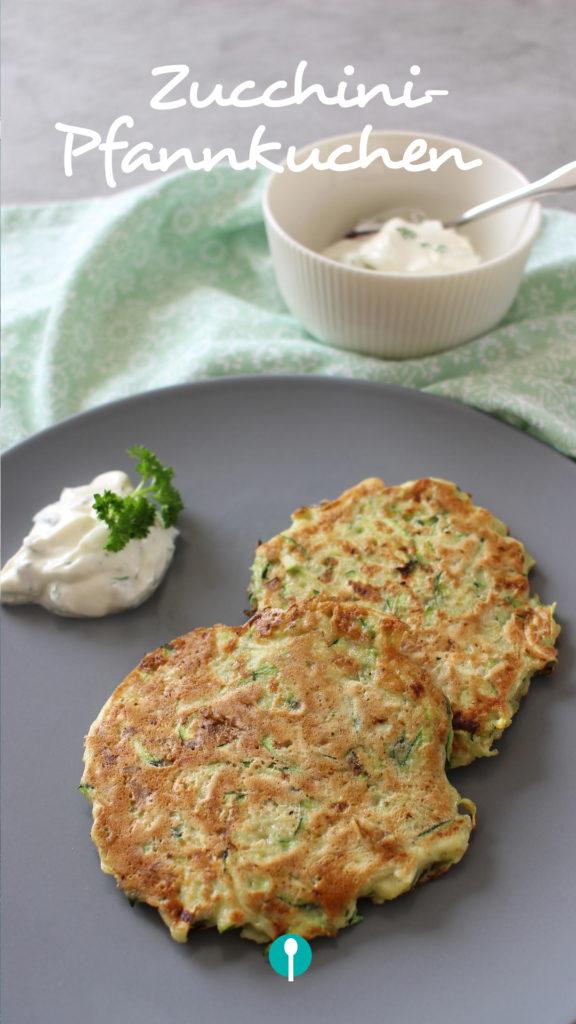 Zucchini-Pfannkuchen Familienkost Kochbuch