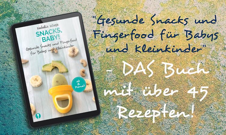 Header ebook snacks für Babys und kleinkinder