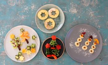 Weihnachtliches Fingerfood für Babys und Kleinkinder