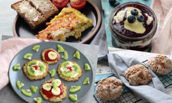 14_Tage-Plan Frühstück für Familie Baby Kleinkinder