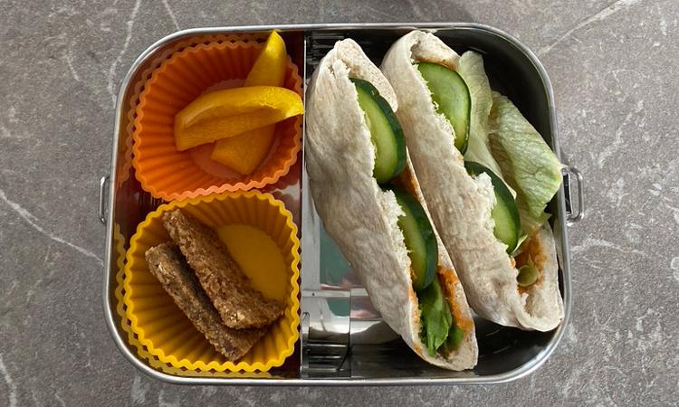 Brotdose für den Kindergarten oder Kita Alternative zu Brot