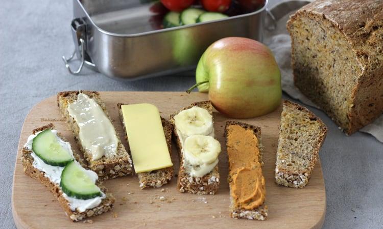 Brotdose Kita Kindergarten belegte Brote