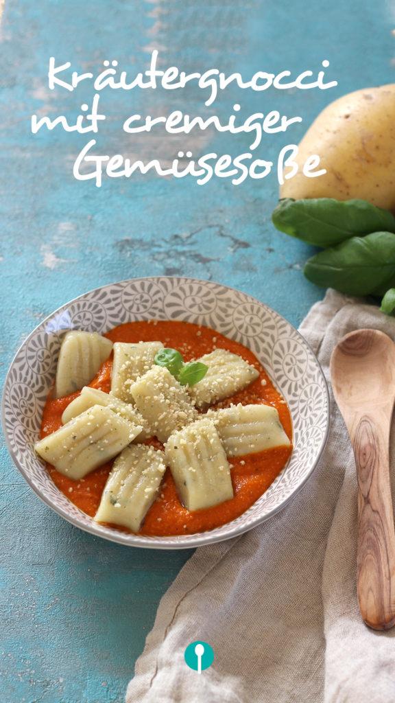 Vegetarische Gerichte für Kinder Gnocchi Tomatensoße