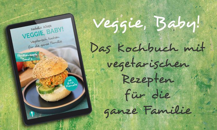 eBook Veggie Baby mit vegetarischen Familienrezepten für Baby und Kleinkind Header