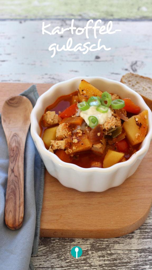 Vegetarische Gerichte für Kinder Kartoffelgulasch