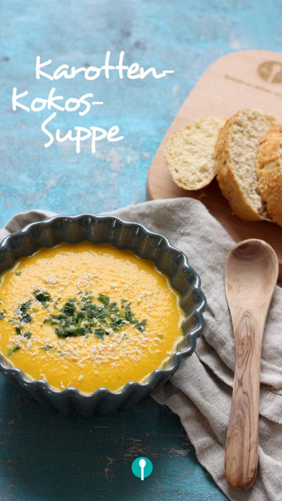 Vegetarische Gerichte für Kinder Karottensuppe
