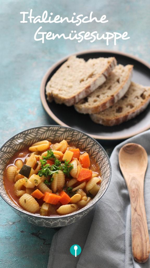 Vegetarische Gerichte für Kinder Gemüsesuppe