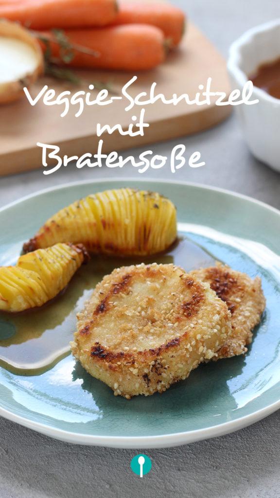 Vegetarische Gerichte für Kinder vegetarisches Schnitzel