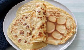 Pfannkuchen Babys Kinder ohne Ei und ohne Zucker