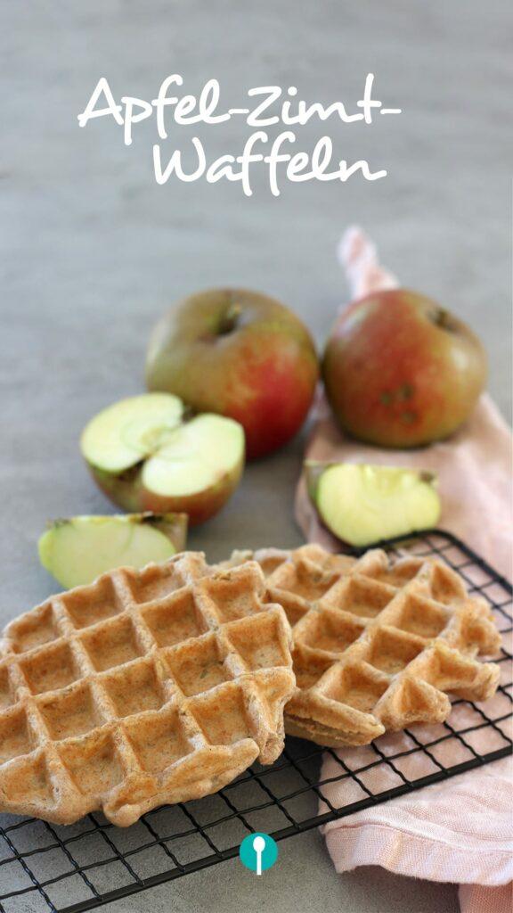 Apfel-Zimt-Waffeln Rezept für Babys und Kinder