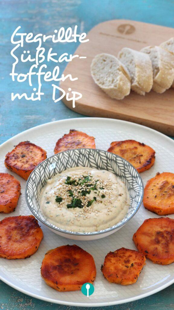 Grillen Baby Kleinkind Familienrezepte Süßkartoffeln gegrillt